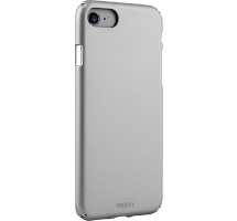 Чехол-крышка Deppa Air Case для Apple iPhone 7/8, пластик, серебристый